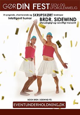 Brdr Sidewind Underholdning Firmafest Julefrokost